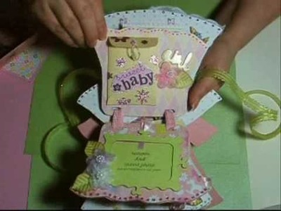 *~* Baby girl mini book gift ~*~