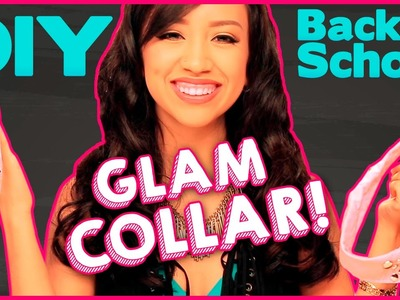 Back to School DIY Collar with Lupe
