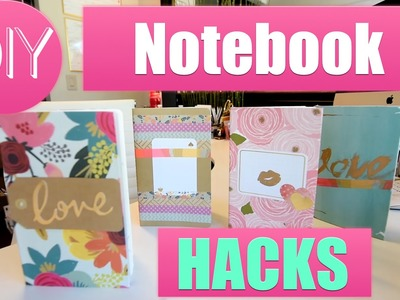 Back To School DIY Notebooks | Robeson Design