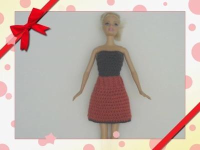 Barbie's - Single Crochet Skirt & Top