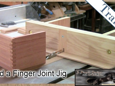 Build a Finger Joint Jig Trailer