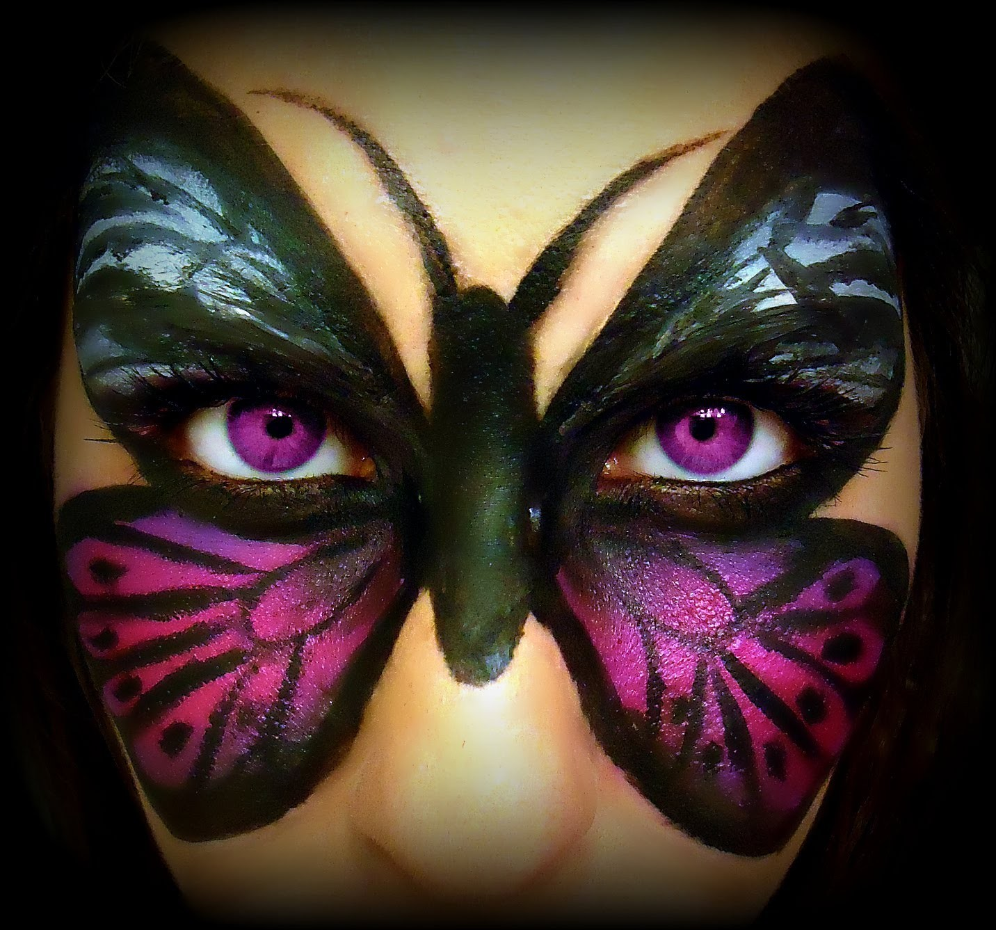 Butterfly Makeup Transformation Tutorial