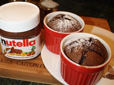 Caitlin's Nestle Chocolate Molten Nutella Cakes