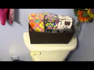 Cloth Toilet Paper (?!)