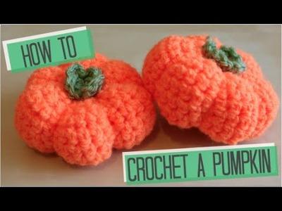 CROCHET: How to crochet a Pumpkin   Bella Coco