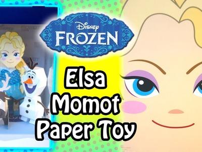 Disney Frozen Queen Elsa - Momot Paper Toy - Unboxing & Building