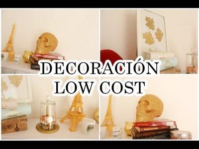 DIY- 3 SENCILLAS IDEAS DE DECORACIÓN.LOW COST