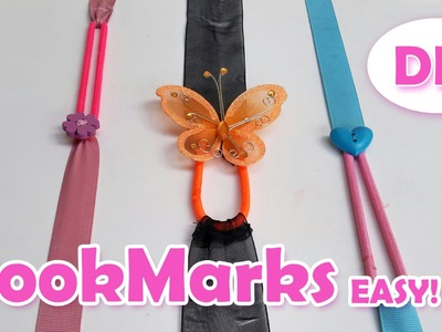 DIY crafts: How to make Bookmarks Very EASY! Ana | DIY Crafts.