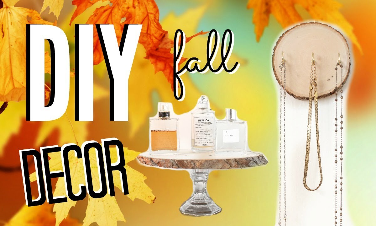 DIY Fall Room Decor! Easy & Cheap Room Decorations!