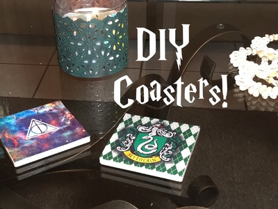 DIY Harry Potter coasters