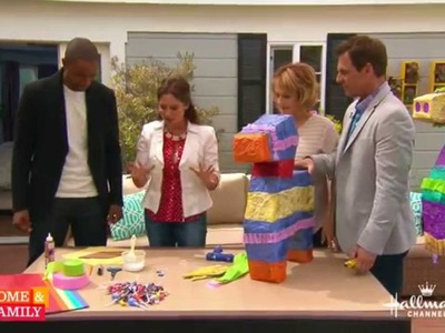 DIY Piñata for Cinco De Mayo - By Tanya Memme (As seen on Home & Family)