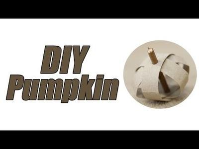 DIY Pumpkin Rabbit Toy