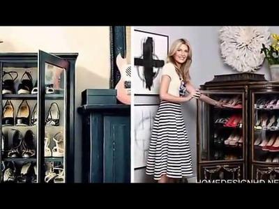DIY Shoe Storage Ideas