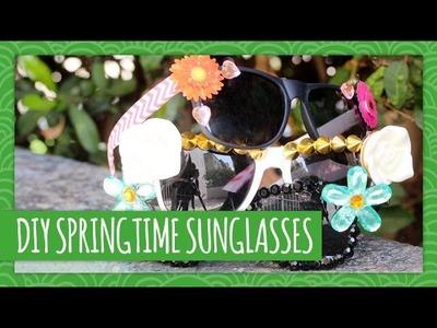 DIY Springtime Sunglasses - - HGTV Handmade
