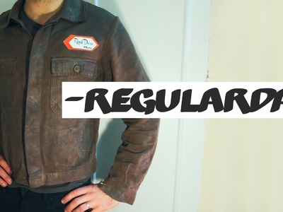 DIY waxed cotton motorcycle jacket. What do you think?| VLOG