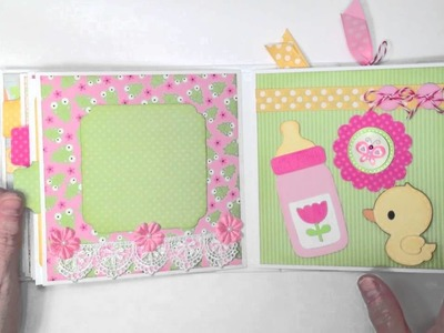 Doodlebug Baby Girl Mini Album