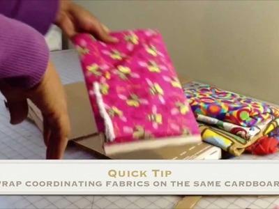 Fabric Organizer Tutorial