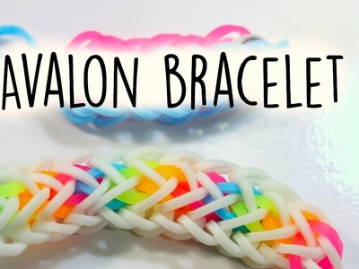 Hook Only Avalon Bracelet | Rainbow Loom Tutorial