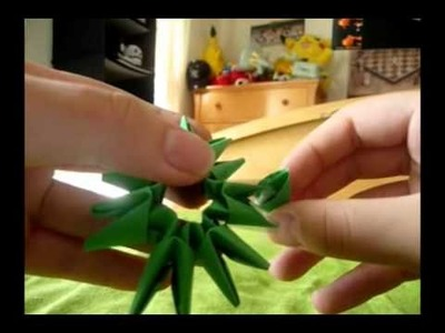 HOW TO - 3D Origami Dragon - PART 3