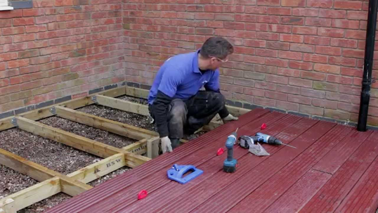 How To Build & Lay Timber Decking