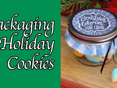 How to gift wrap your cookies - cookie packaging ideas