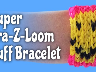 How to make a Super Cra-Z-Loom Cuff Bracelet: Loom Tutorial