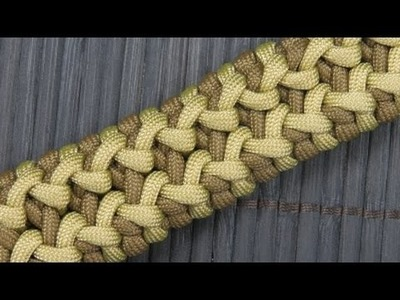 How to make a Wide Side Step Paracord Bracelet