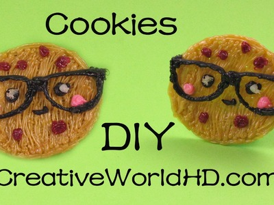 How to Make Cookies (Nerdy Nummies) - 3D Printiing Pen Creations.Scribbler DIY Tutorial