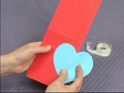 How to Make Pop-Up Cards & Envelopes : How to Make a Pop-Up Heart Card: Part 1