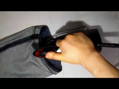 How to shorten Jean Pants  with Attach Original hem part3