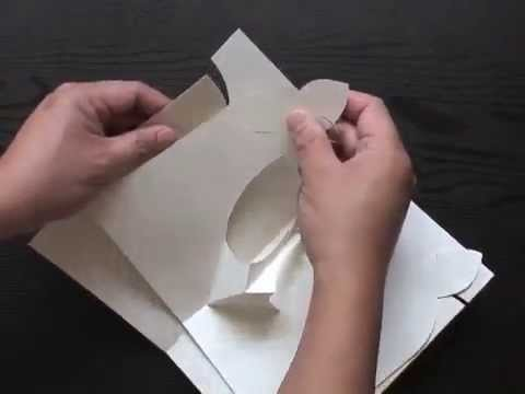 Making a Craft Kiragami Hummingbird