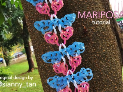 MARIPOSA Hook Only bracelet tutorial