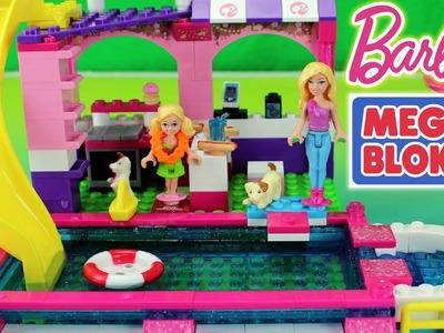 Mega Bloks Build N Play Set Chelsea Pool Party with Barbie