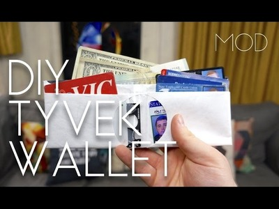 Mini MOD Monday: DIY Tyvek Wallet