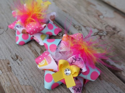 Pigtail Hair Bows with Artemis in Love