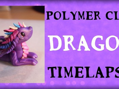 Polymer Clay Dragon Sculpting Timelapse