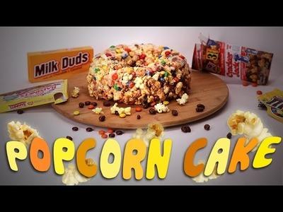 Popcorn Cake | Just Add Sugar