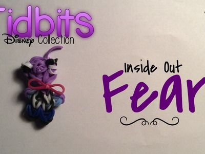Rainbow Loom Fear Charm | Inside Out [Tidbits Series]