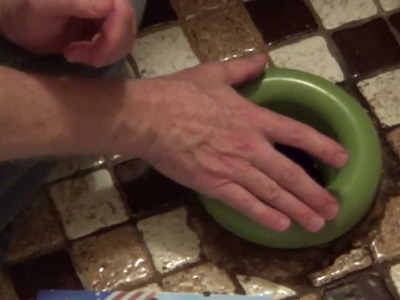 Replace Toilet Wax Ring - No Wax Toilet Ring - Toilet Leaking at Base