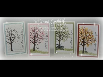 Sheltering Tree thank you cards with Dawn