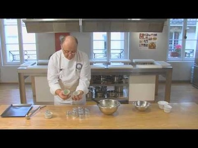 Soft-centered Chocolate Cakes by Pierre-Dominique Cécillon for Larousse Cuisine