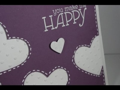 Stampin' on Friday #60 You make me happy