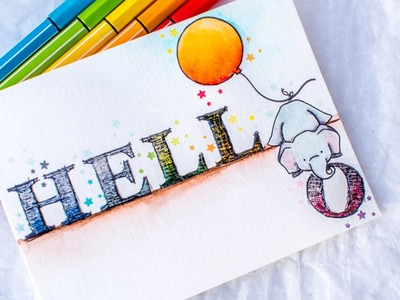 Tips for Watercolor With Markers (Guest Julia Altermann)