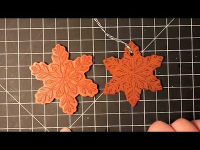 12 Days of Christmas Ornaments Day 4 - Old-Fashioned Cinnamon Cookie Ornaments