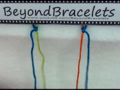 8► Bracelet Making 101 - Mixed Knots (4P and P4)