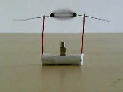 A simple DC Motor DIY