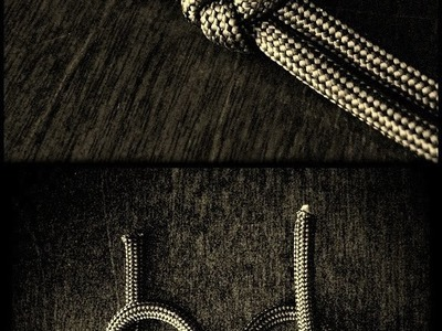 A two strand paracord lanyard knot ~ ABoK #802