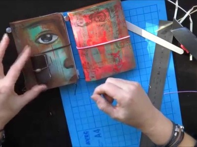 A6, Fieldnotes.Pocket or Passport booklet making tutorial