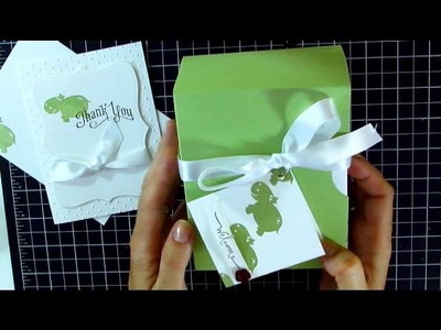 Baby Thank You Notes and Card Box