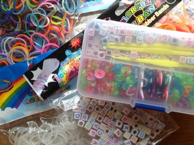 Big Rainbow Loom Haul!